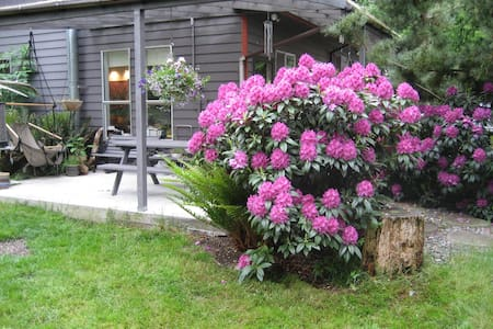 Guest House on 5 acres - Anacortes - Cabane