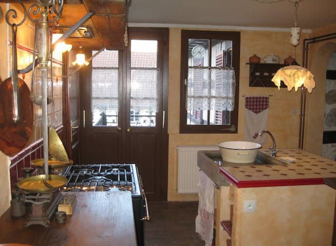 GITE DE CHARME 4**** ROUTE DES VINS - Andlau - Apartment