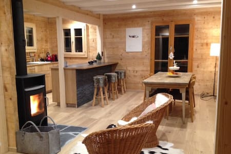 Chalet in Val d'Herens, 4-6 persons - Saint-Martin - Chalet