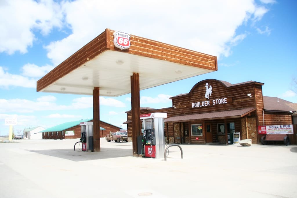 C-store with fuel on site