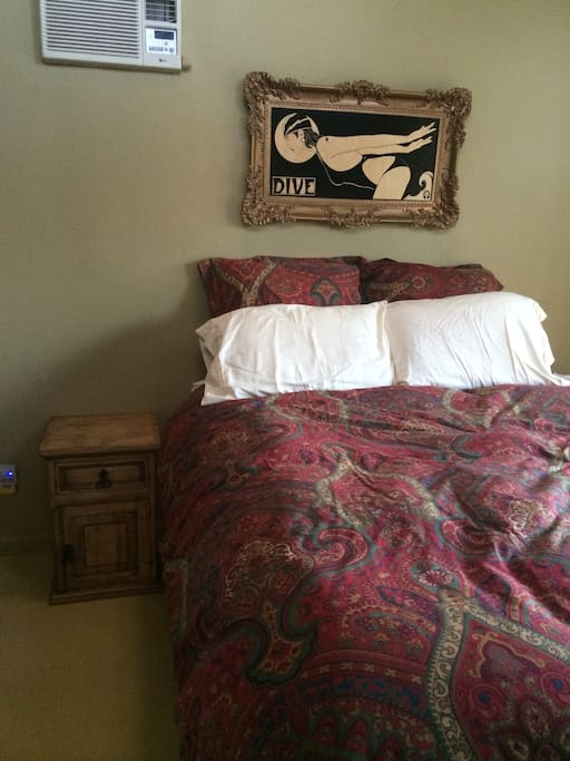 Super comfortable brand new queen sized pillow top bed.