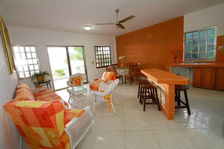 OCEAN FRONT MIMA'S (URL HIDDEN) - San Miguel de Cozumel - Villa