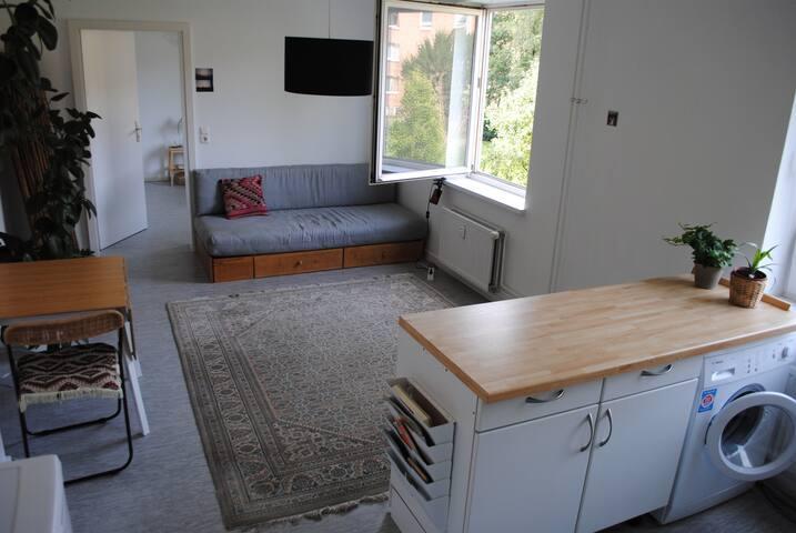 Calm apartment in colorful Wilhelmsburg - Hampuri - Huoneisto