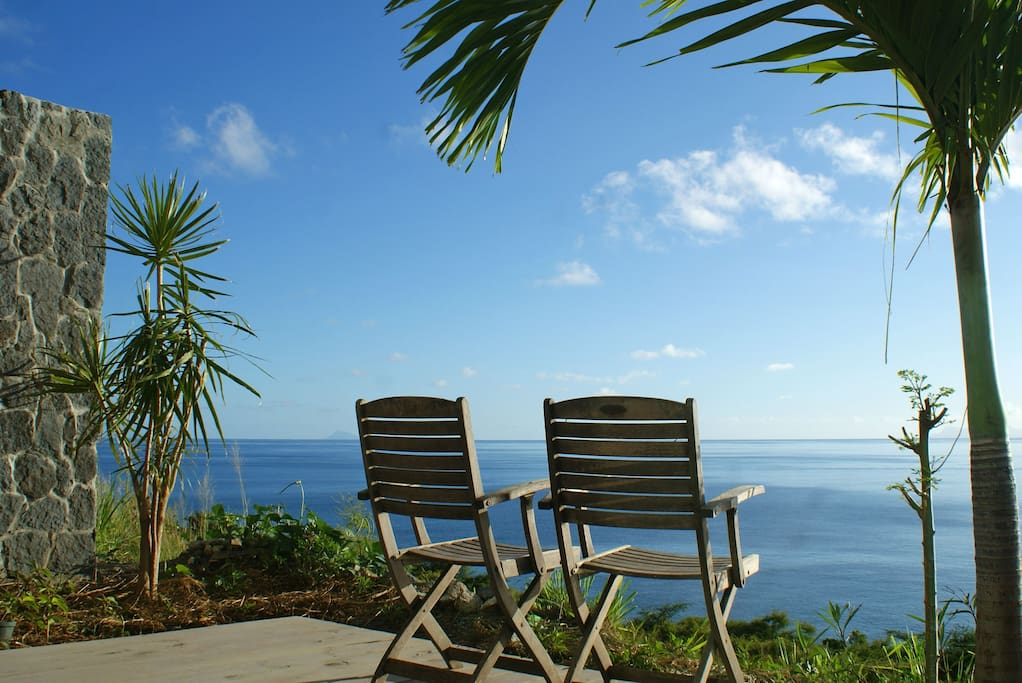 Peace and spectacular ocean views