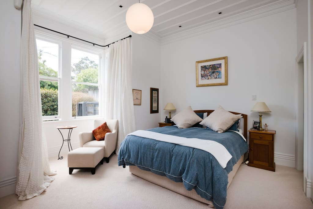 Master Bedroom, very quiet and private