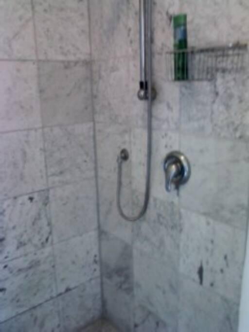 European-style marble bathroom