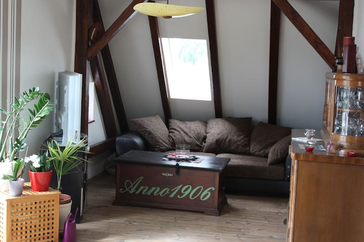 Super freundliches Dachgeschoss Appartment - Forst (Lausitz) - Appartement