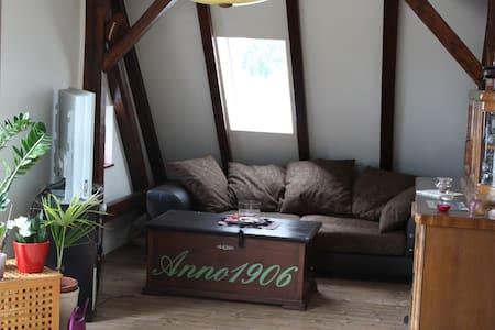 Super freundliches Dachgeschoss Appartment - Forst (Lausitz) - Daire