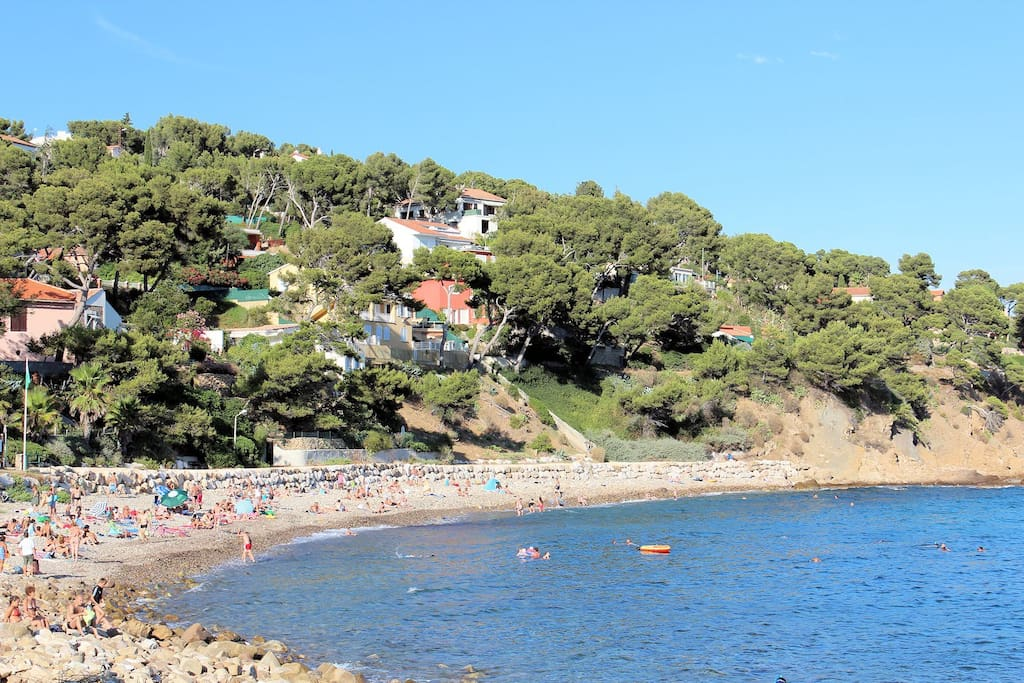 La Coudoulière beach
