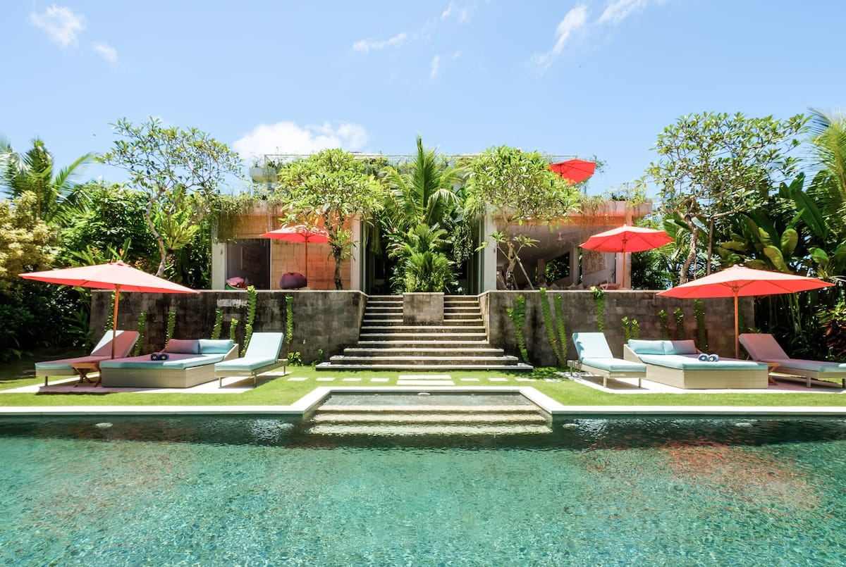 Stunning Garden Villa 2 Surrounded by Rice Paddies