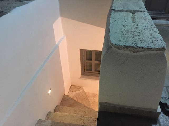 Cycladic Traditional house in Apeiranthos of Naxos