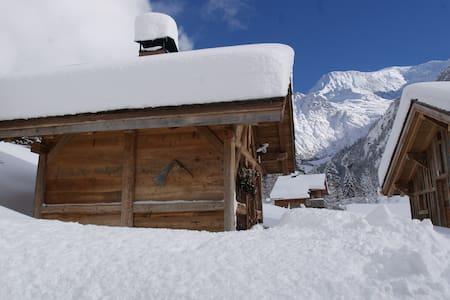 Mazot au pied du Mt Blanc - Saint-Gervais-les-Bains - 独立屋