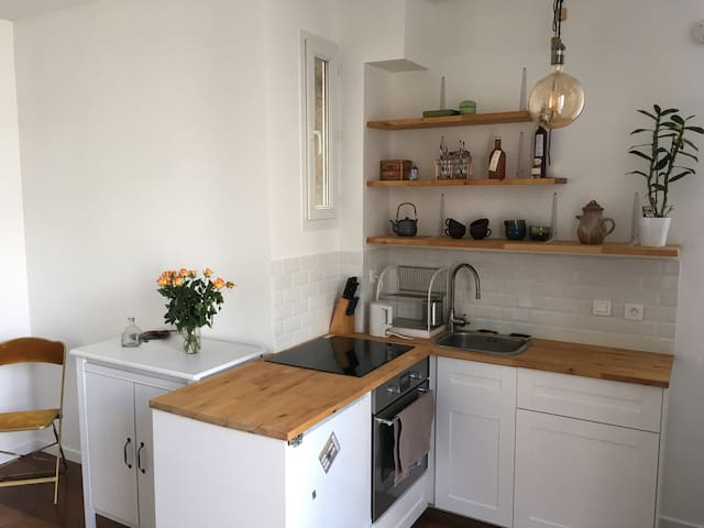 Cosy, quiet and charming appartement