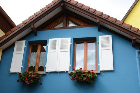 Rental : The Blue House in Alsace - Bergheim