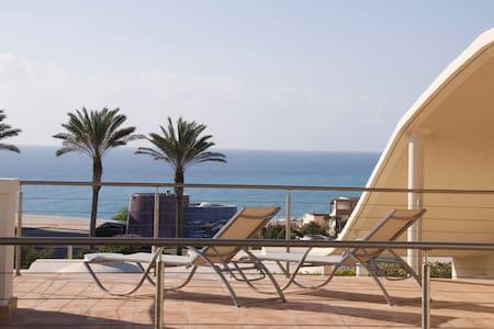 Villa Amalia, pool, ocean view! - Costa Calma