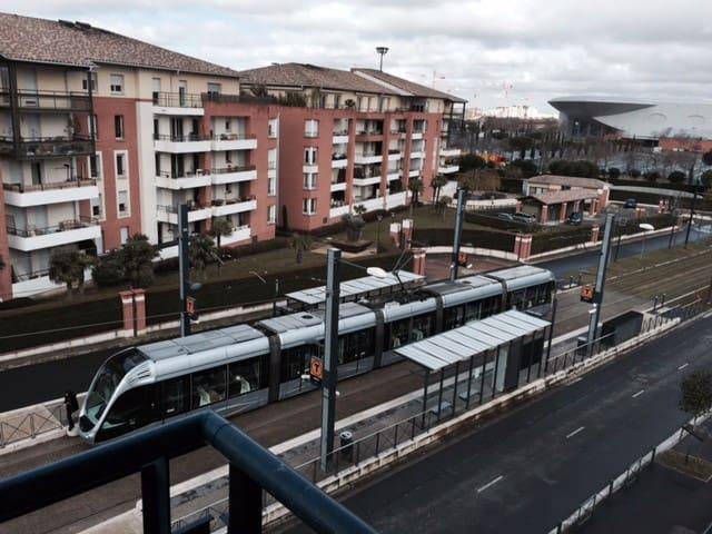 Chambre proximité tramway