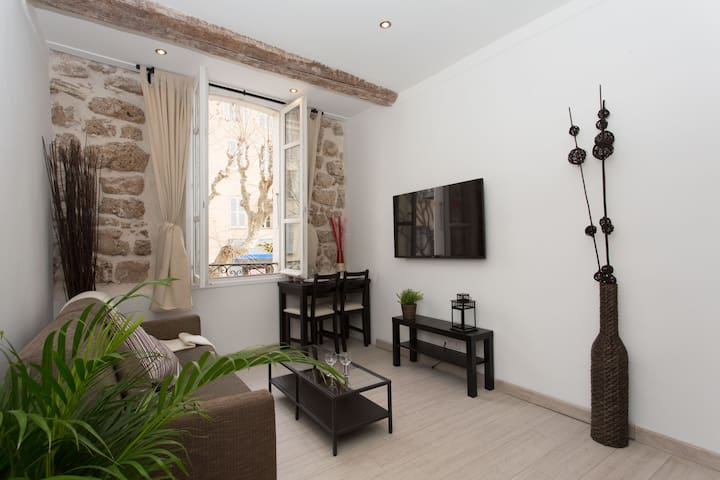 Vieil Antibes moderne & authentique - Antibes - Wohnung