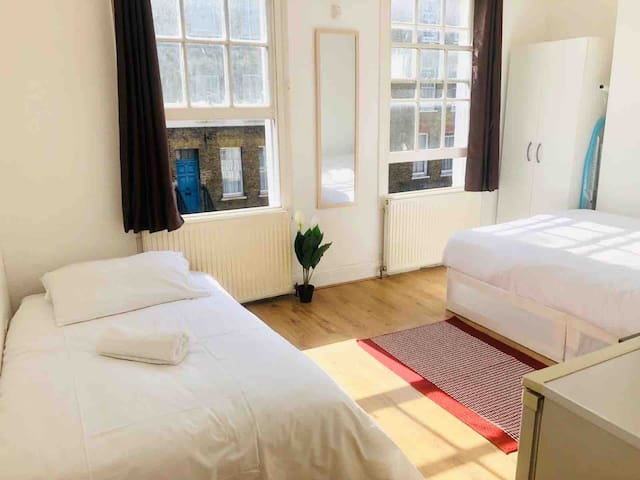Large Pleasant, charming and cosy room in London.