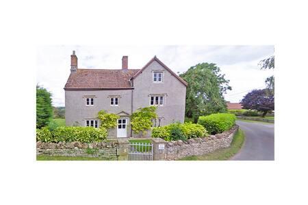 Old Farm, Built 1580's, Nr Bath, Wells & Cheddar