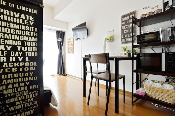 Near Shin-osaka!7mins walk to subway! - Yodogawa-ku, Ōsaka-shi - Appartement
