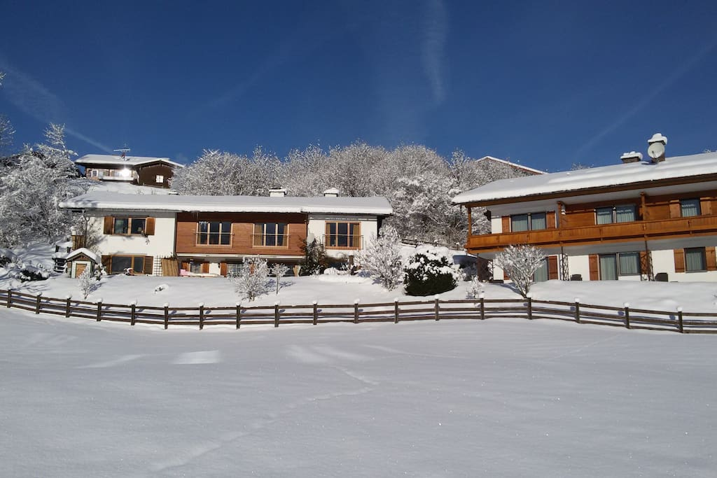Aussenansicht Gästehaus Boehm