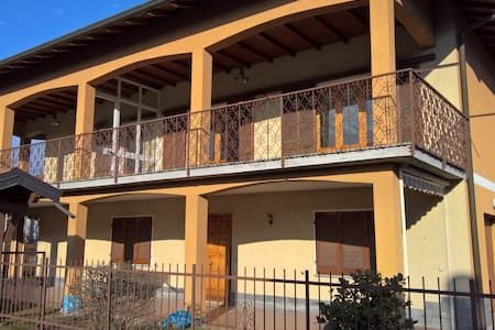 Sunny House with big terrase - Cugliate-Fabiasco