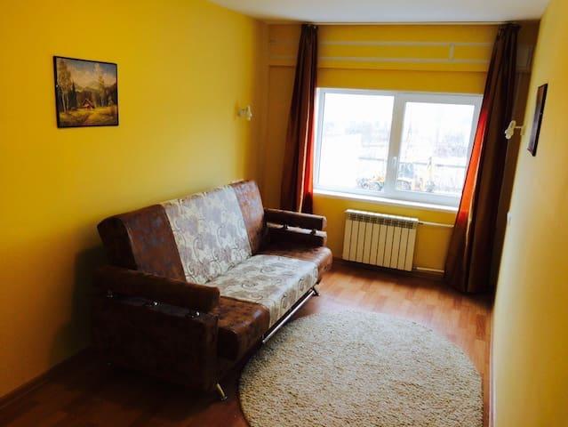 квартира-студия в отдельном доме - Krasnyy Bor - Appartement
