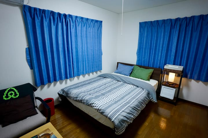 Easy Going Host at Hill Top Ordinary House(1-2pax)
