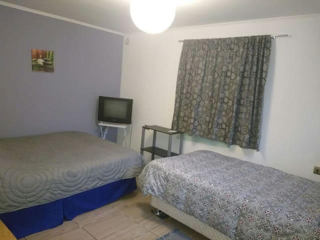 Hostal muy cómodo en Licán Ray - Lican ray - Appartement