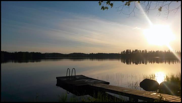 Hangasjärven kesämökki/Summer Cottage Hangasjärvi