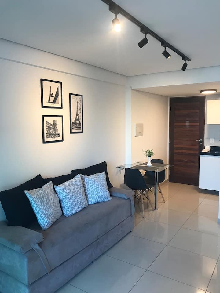 Apartamento boutique 38m2  com vaga de garagem!!!