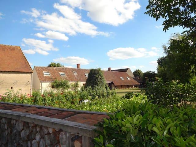 La Ferme des Hiboux - Saint-Benoît-sur-Loire - Bed & Breakfast