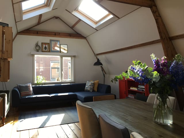 Intimate sunny loft for two