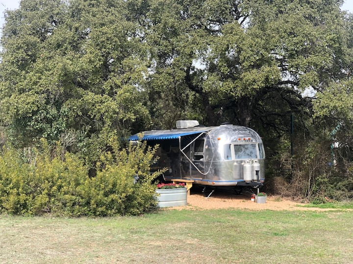 Hudson Bend Ranch,  Vintage Airstream