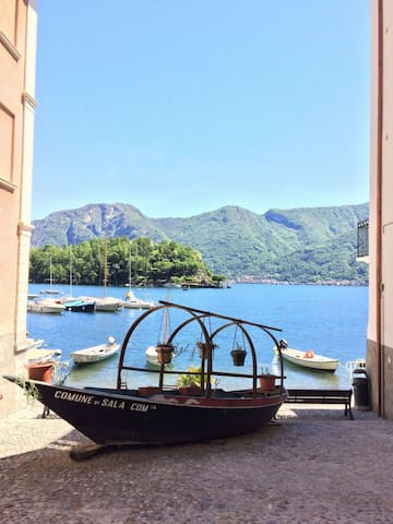 Balcone sull'Isola - Sala Comacina - Dom