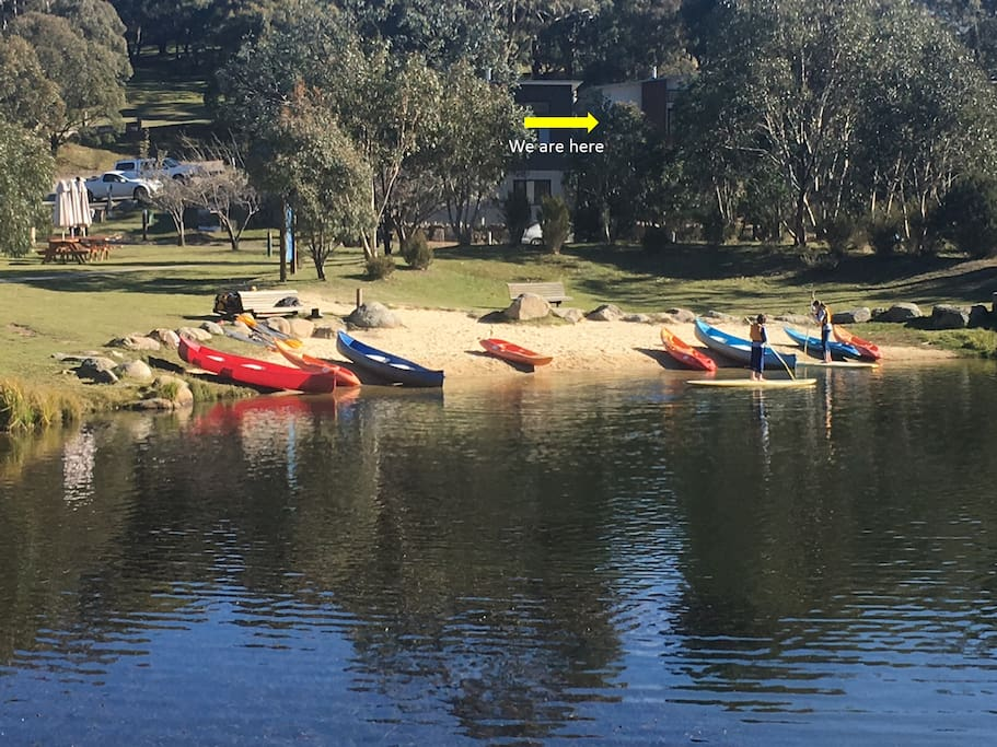 Access to a range of outdoor activities including canoeing, kayaking, paddle boarding and even Segway tours