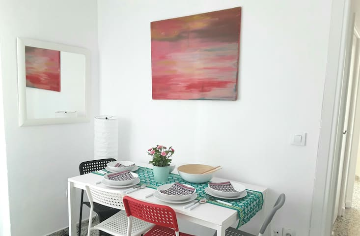 Bright apartment in the center of Seville