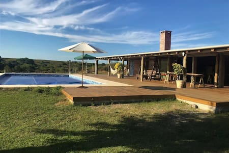 Casa rural en Colonia 1– Spa, Piscina y Barbacoa