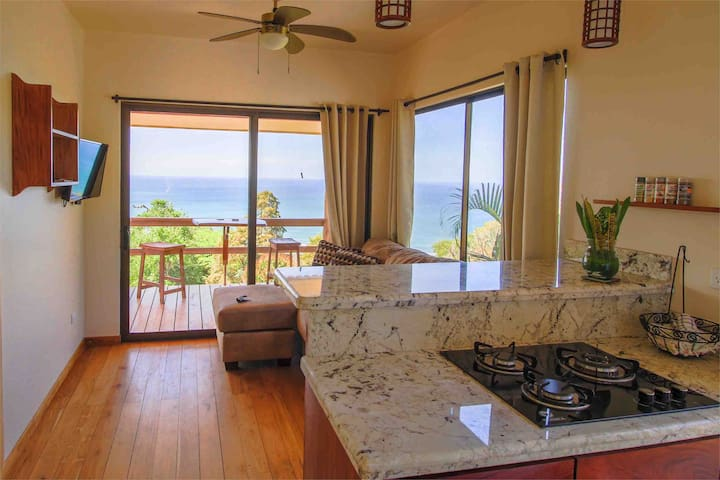 Enjoy cooking your meals here with the amazing view in the background!