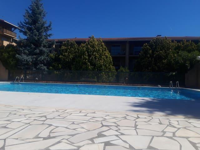 T2 Toulouse avec piscine