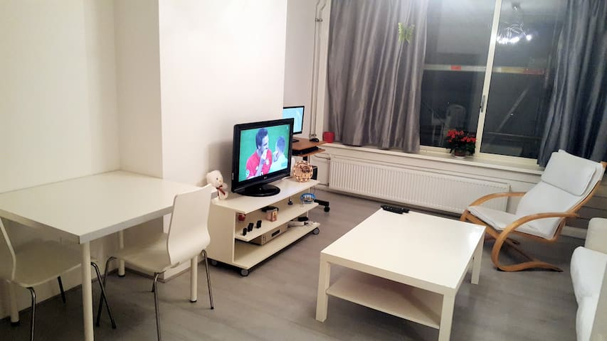 Delightful Apartment, 2 bedrooms and balcony - Amsterdam - Appartement