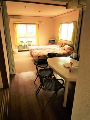 伊勢市 伊勢神宮 夫婦岩 サンアリーナ近く部屋Bは広くファミリーや女子会旅 グループ向き 無料駐車場