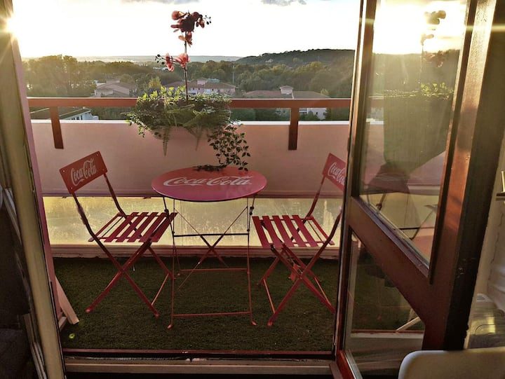 Studio Cosy rénové  Aix en provence