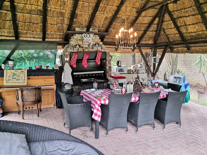 Glamping in Sandton next to Mall of Africa