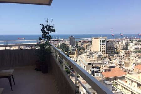 Big room, stunning view. - Beirut
