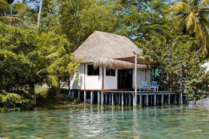 Exclusive Palafito @ Bacalar Lagoon Front