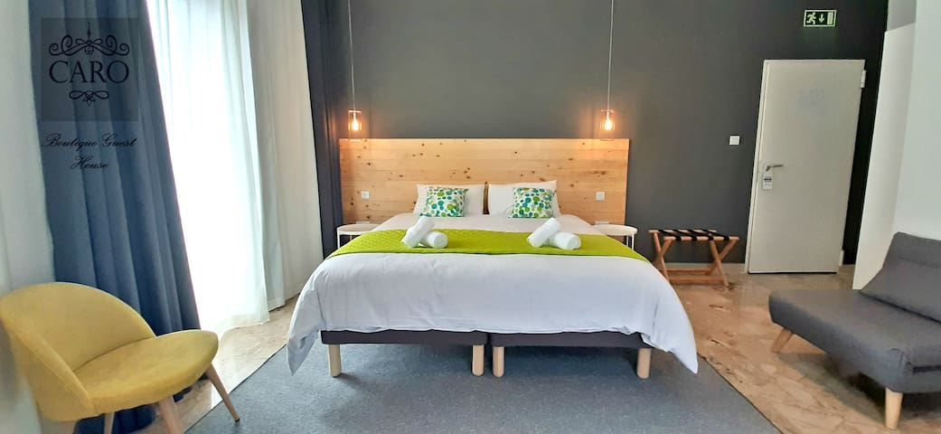 Caro Boutique Guest house- Double Bedroom
