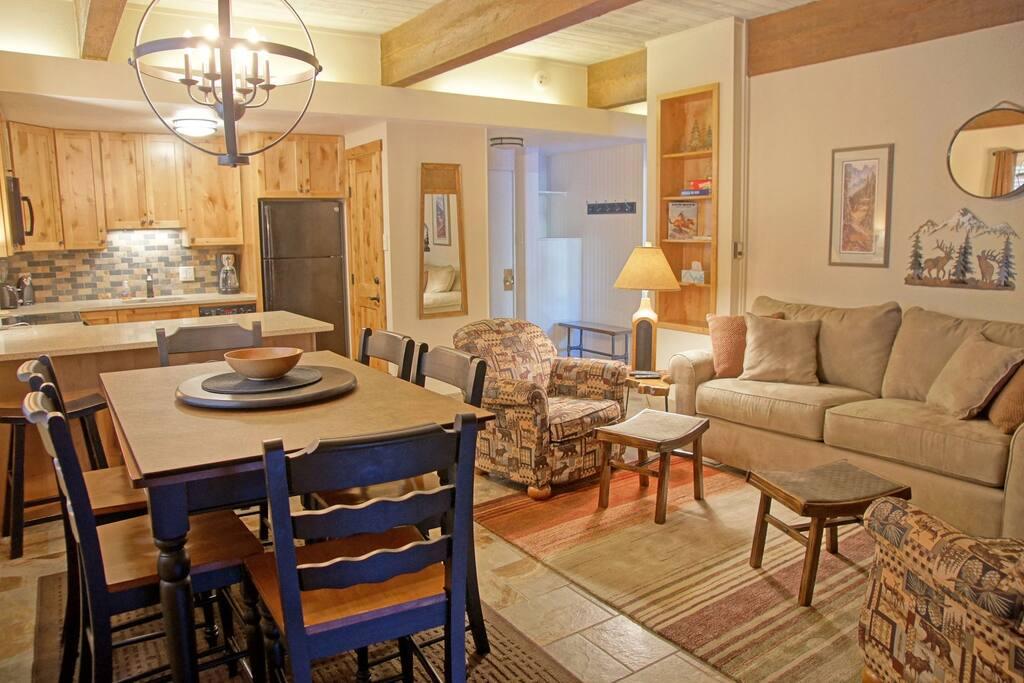 Beautiful furnishings and decor