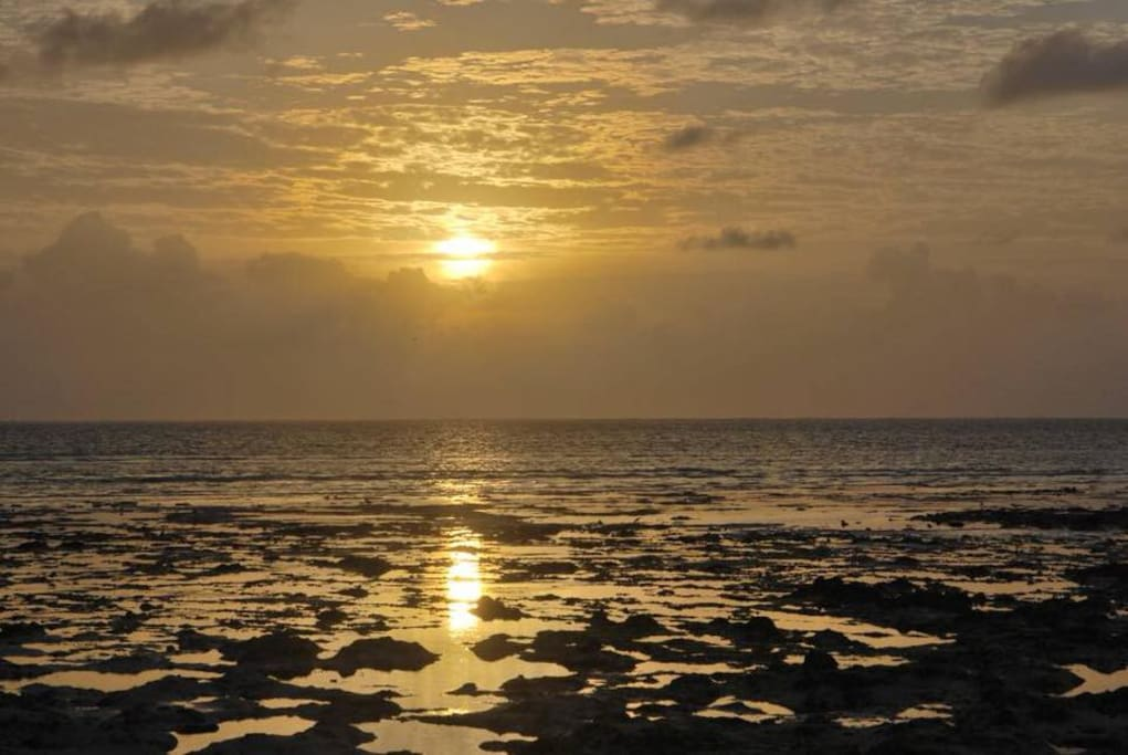 Sunset view at Panorama Ocean View