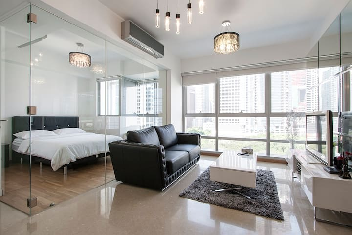 City Living Modern Apartment at Telok Ayer 12 - Singapore - Huoneisto